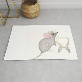 Children Mouse Tooth Rug