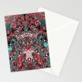 Abstract mess I Stationery Cards