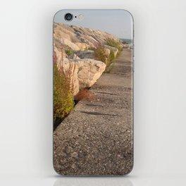 Walk along the water iPhone Skin