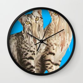 Only Come to Eat Wall Clock