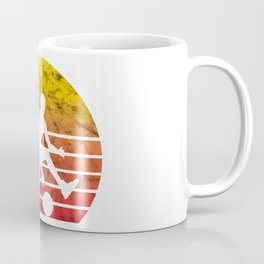 Basketball Player Fan Retro Vintage Love Gift Coffee Mug