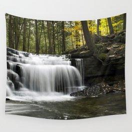 Waterfalls Landscape Wall Tapestry