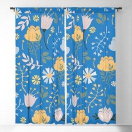 Flowers Pattern 64 Blackout Curtain