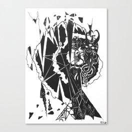 Diamond King Canvas Print