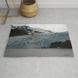 TEXTURES -- A Face of Portage Glacier Rug