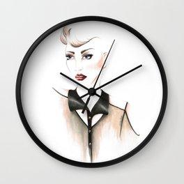 Edgy Gaze Wall Clock