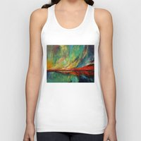 aurora Tank Tops featuring Aurora by Michael Creese