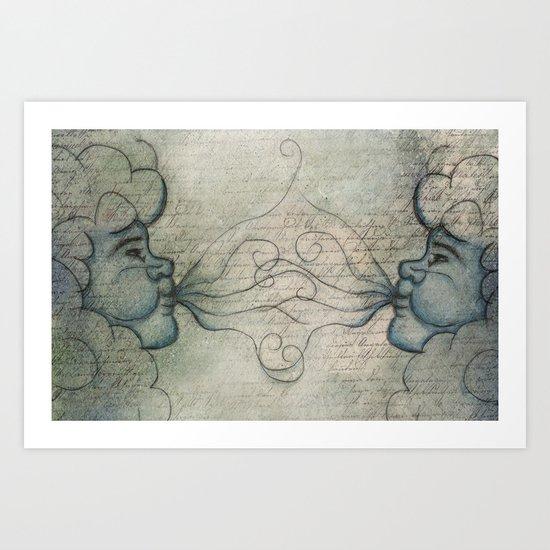East Wind, West Wind Art Print