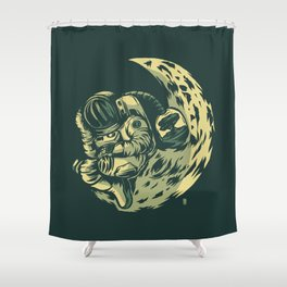 Earth Exile Shower Curtain