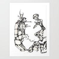 Tortured Stiff Art Print