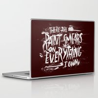 misfits Laptop & iPad Skins featuring TV Casualty by Josh LaFayette