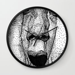 point face Wall Clock