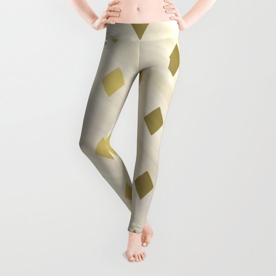Shades Of Diamonds Abstract Leggings
