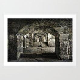 Casemate Carriage Art Print