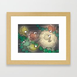 Little Moon – Brightest in the Bunch Framed Art Print