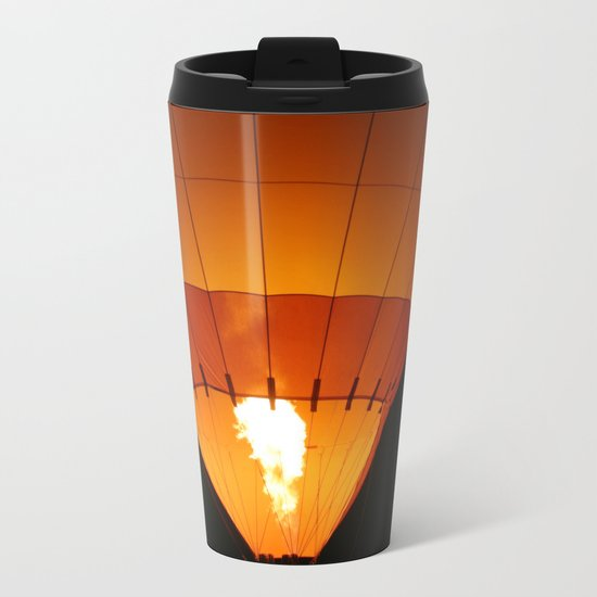 Hot Air Balloon Metal Travel Mug