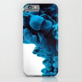 I Feel Blue iPhone Case