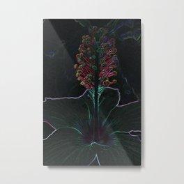 velvet colored flower Metal Print