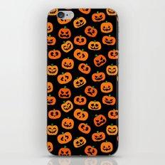Jack-o'-Lanterns iPhone & iPod Skin