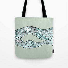 Sea Weeds, pale Tote Bag