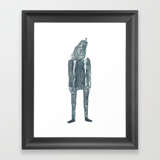 monsieur poire Framed Art Print