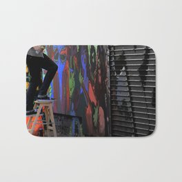 Those  'Say-Nothing' Work Clothes Bath Mat