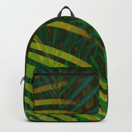 TROPICAL GREENERY LEAVES Backpack