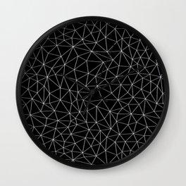 Low Pol Mesh (negative) Wall Clock