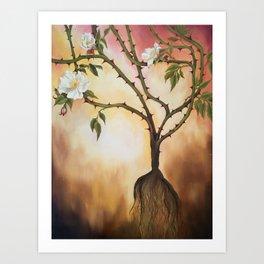 The Root Art Print