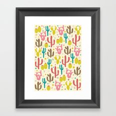 Prickly Cactus  Framed Art Print