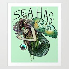 Sea Hag Art Print