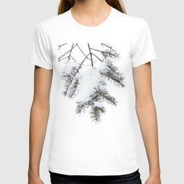 Snowy Spruce Needles 6 T-shirt