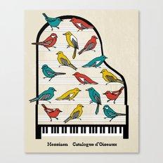 Messiaen - Catalogue d'Oiseaux Canvas Print