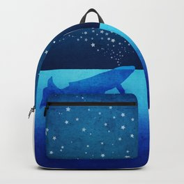 Whale Spouting Stars - Magical & Surreal Backpack
