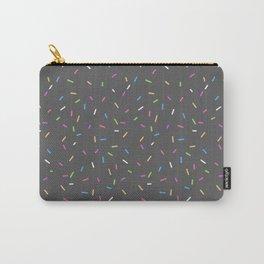 Sprinkles, Please (Dark Grey) Carry-All Pouch