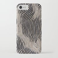 calligraphy iPhone & iPod Cases featuring it's waving calligraphy by Anna Grunduls