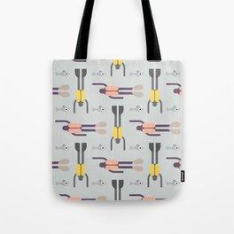 Scuba Divers Pattern Tote Bag