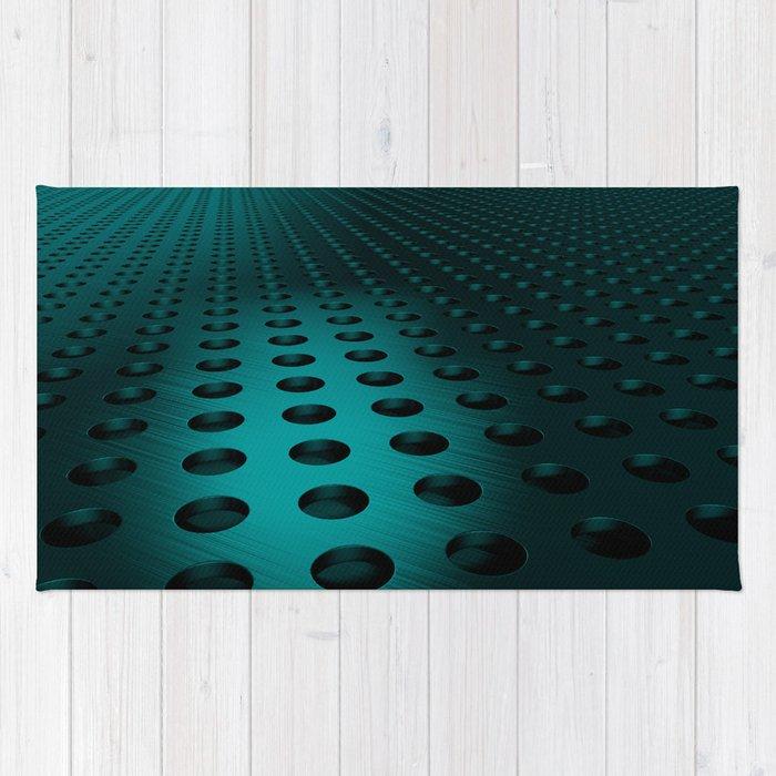 Circular speaker grille Rug
