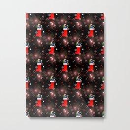 Christmas Stockings Metal Print