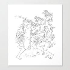 Daab Song Meu Canvas Print