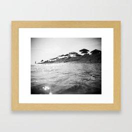 Float.  Framed Art Print