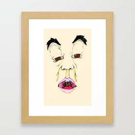 EEH..? Framed Art Print