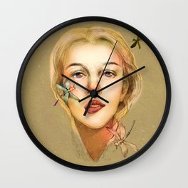 Litte girl Wall Clock