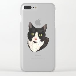 Toulouse Clear iPhone Case