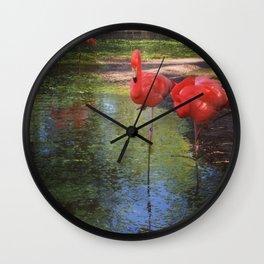 Enameled Bog Wall Clock