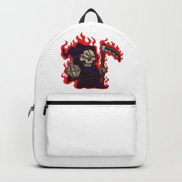 Grim Reaper Middle Finger Backpack