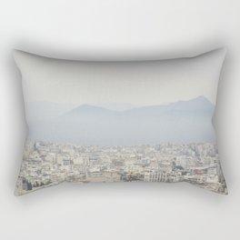 Haze Over Athens Rectangular Pillow