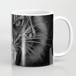 Heart of a Tiger Coffee Mug