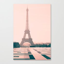 Eiffel tower in the early morning Canvas Print