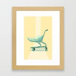 Handcart Framed Art Print